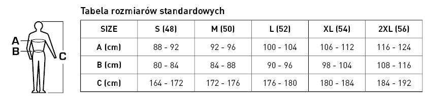 tabela rozmiar 1